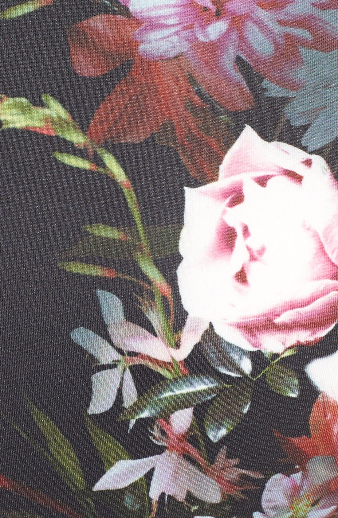 Alternate Image 5  - Felicity & Coco Floral Print Scuba Sheath Dress (Regular & Petite) (Nordstrom Exclusive)