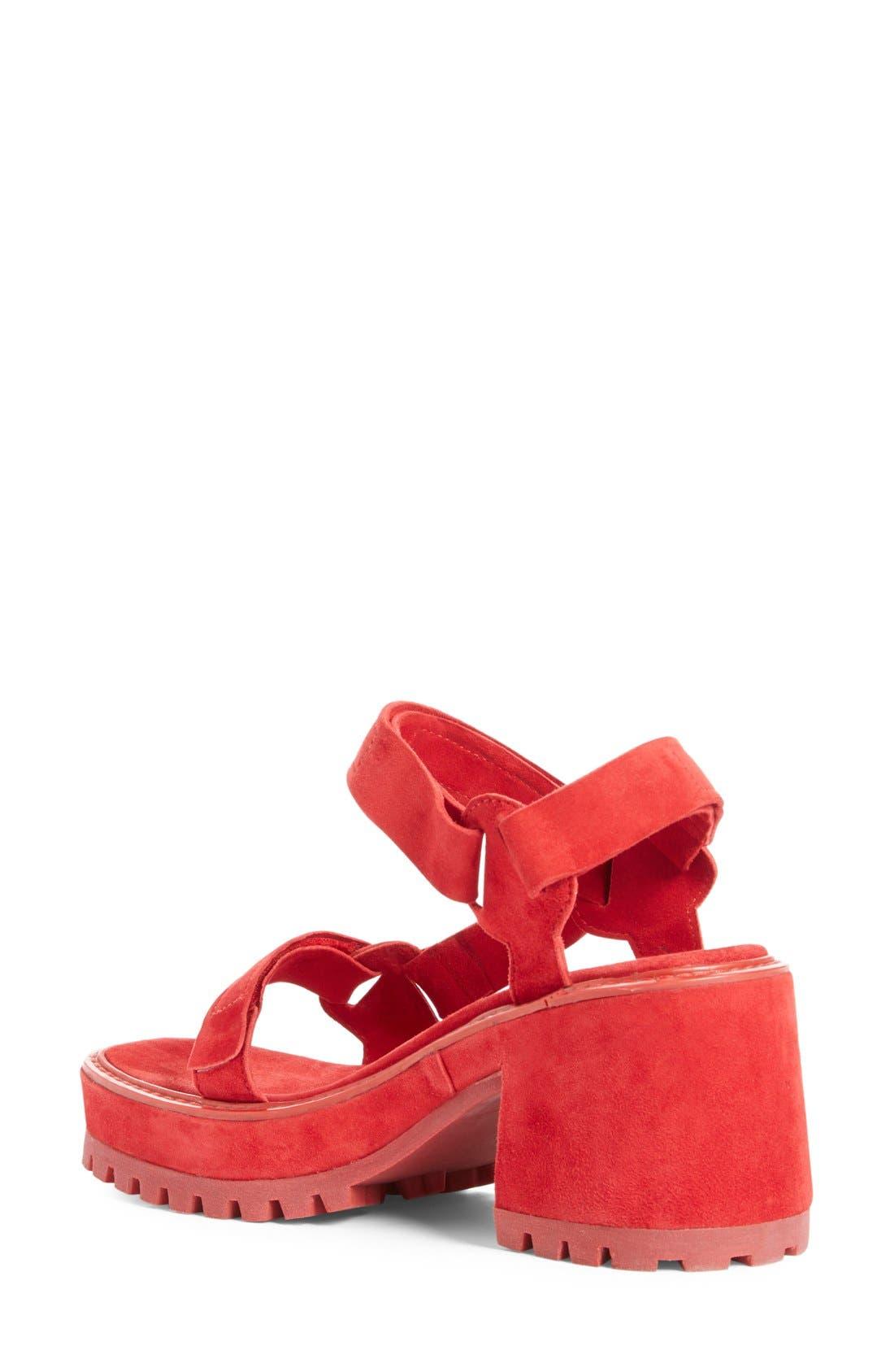 Alternate Image 2  - Marques'Almeida Chunky Heel Sandal (Women)