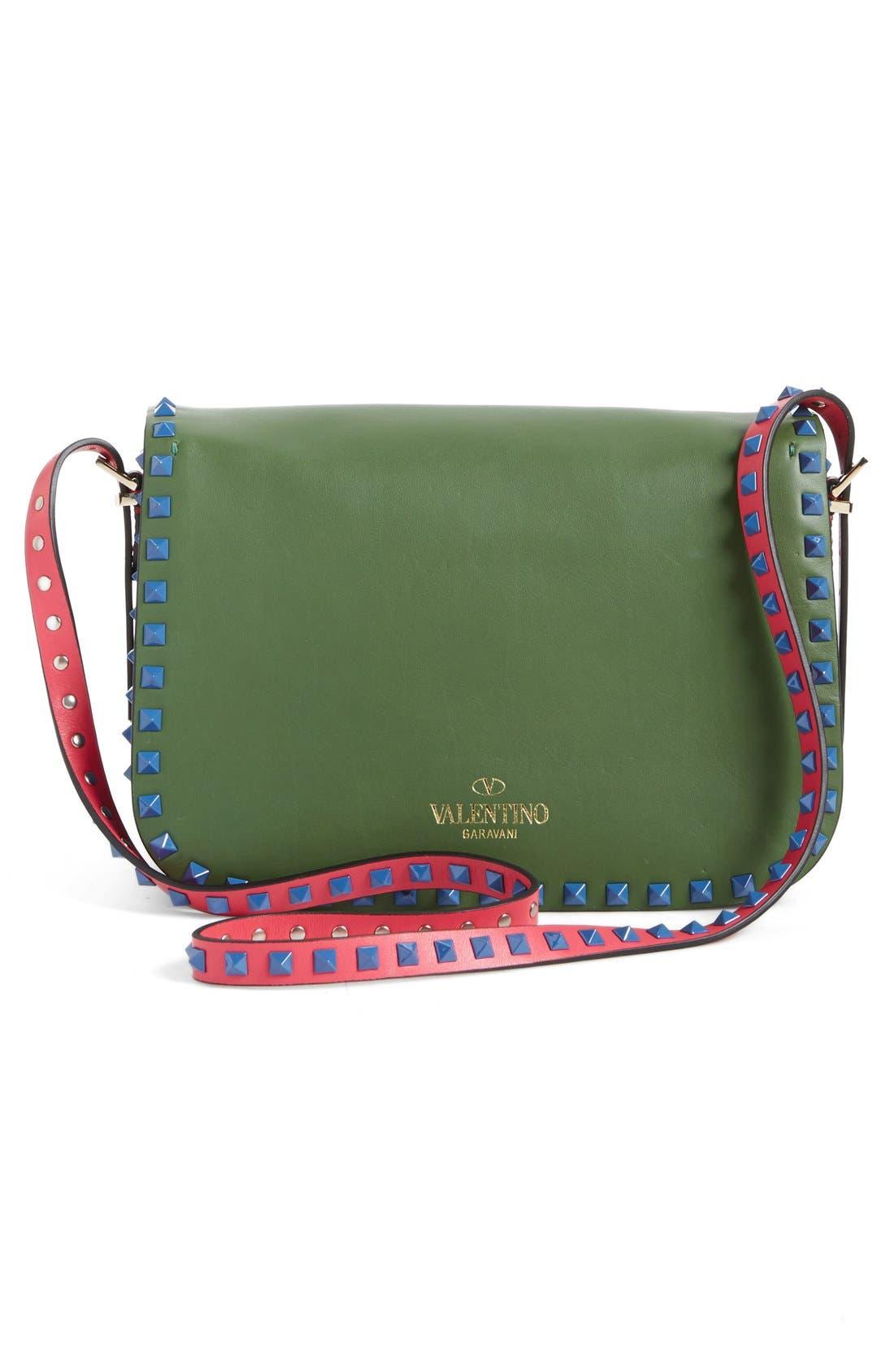 Alternate Image 2  - Valentino 'Rockstud' Colorblock Shoulder Bag