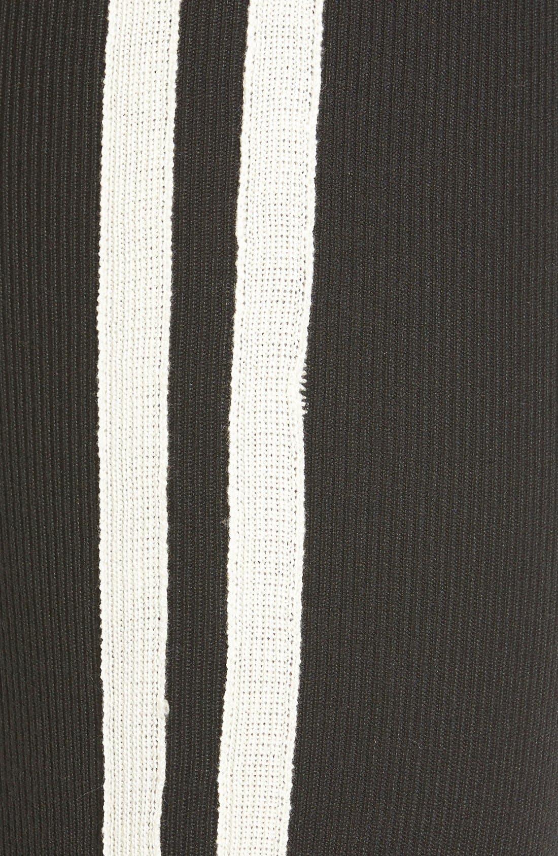 Alternate Image 5  - Hue Racer Stripe Sweater Leggings