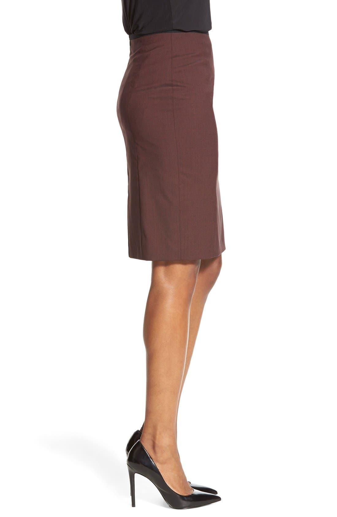 Alternate Image 3  - BOSS 'Vabina' Wool Pencil Skirt