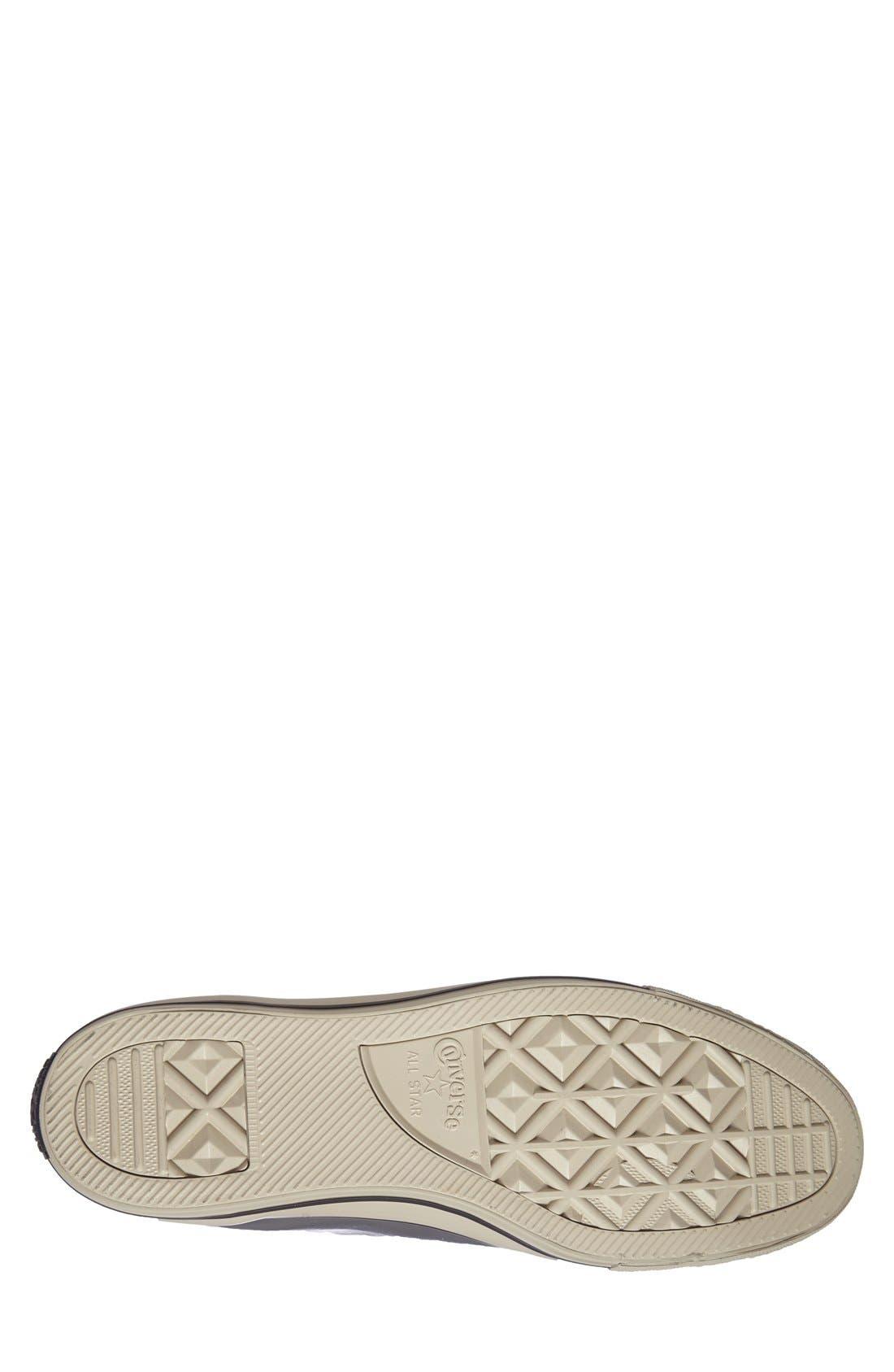 Alternate Image 4  - Converse Chuck Taylor® All Star® Rubber High Top Sneaker (Men)