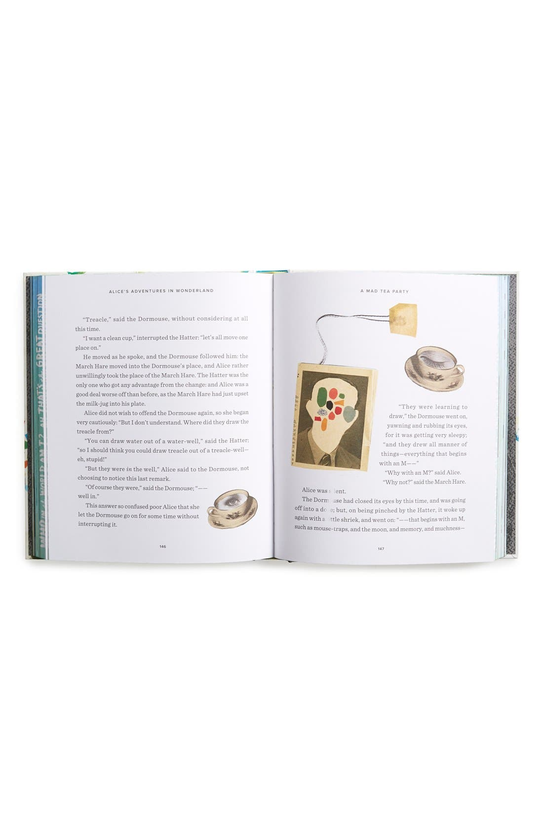 Alternate Image 2  - 'Classics Reimagined: Alice's Adventures in Wonderland' Book