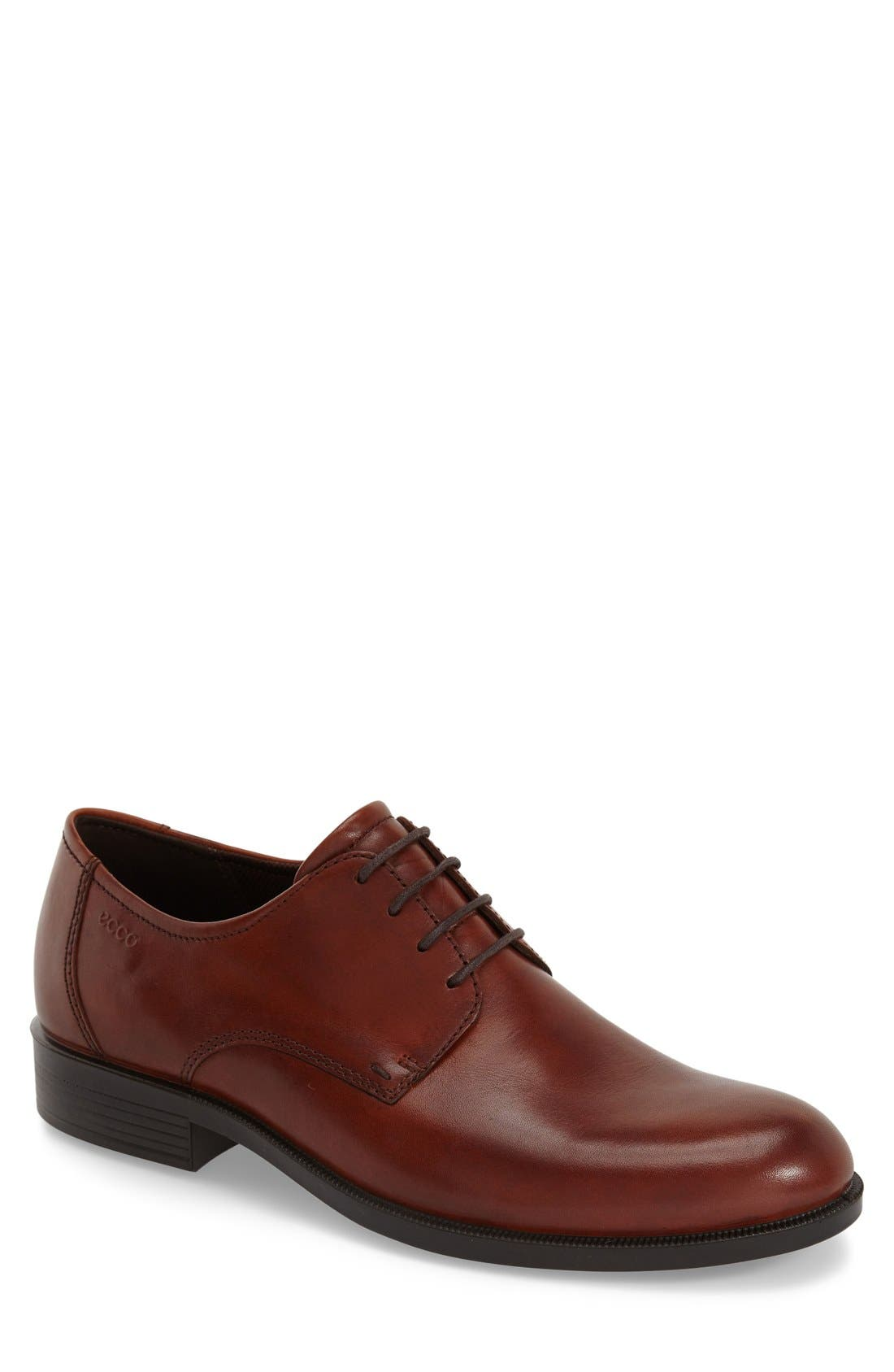 ECCO 'Harold' Plain Toe Derby