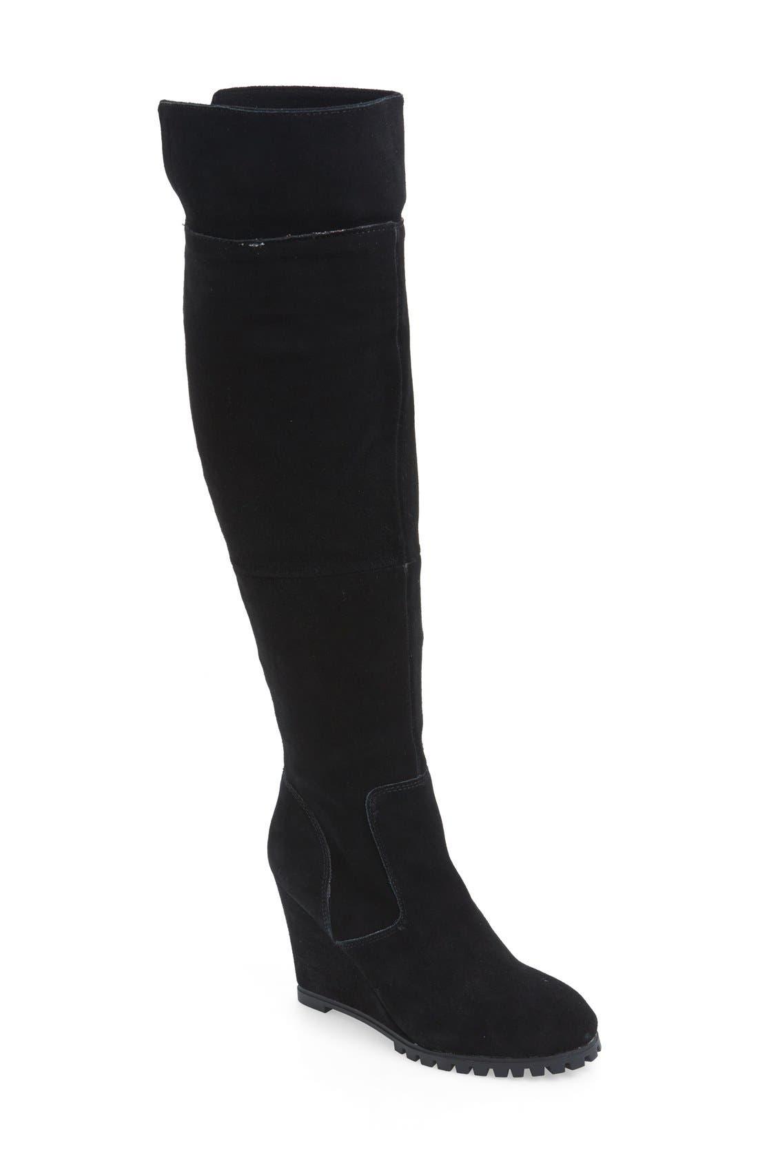Main Image - Steve Madden 'Willful' Tall Wedge Boot (Women)