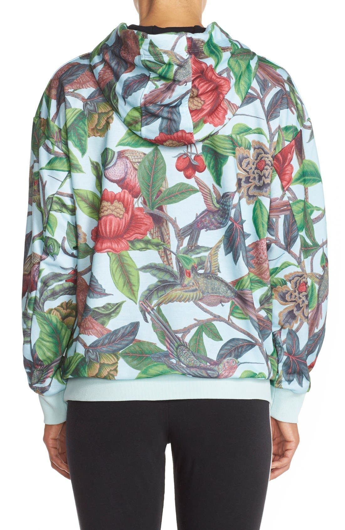 Alternate Image 2  - adidas Originals 'Florera - Battle of the Birds' Hoodie