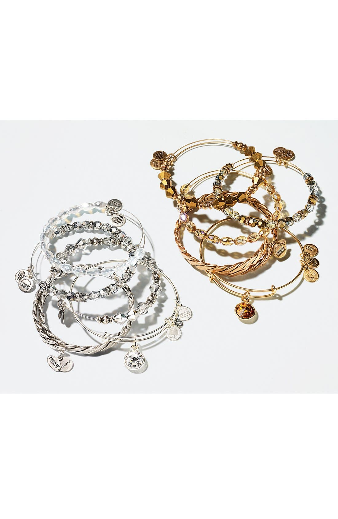 Alternate Image 4  - Alex and Ani Birthstone Expandable Wire Bangle
