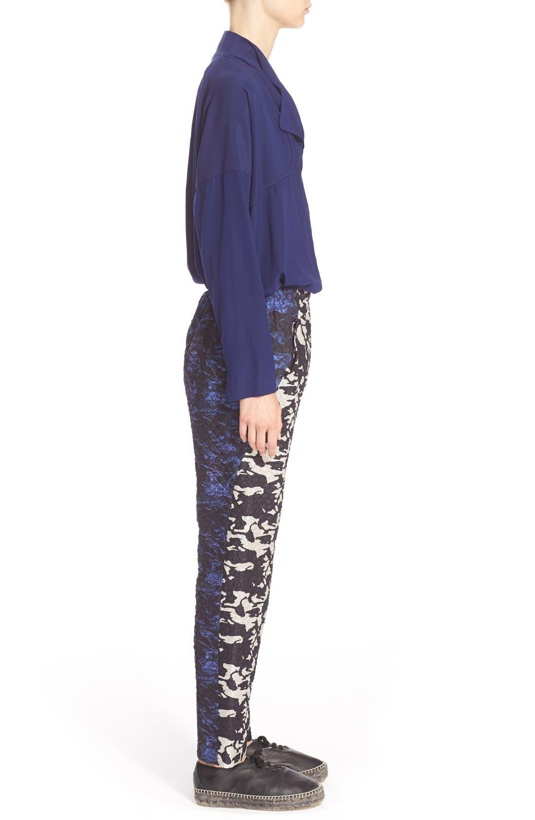 Alternate Image 5  - Zero + Maria Cornejo 'Edi' Stretch Silk Charmeuse Shirt