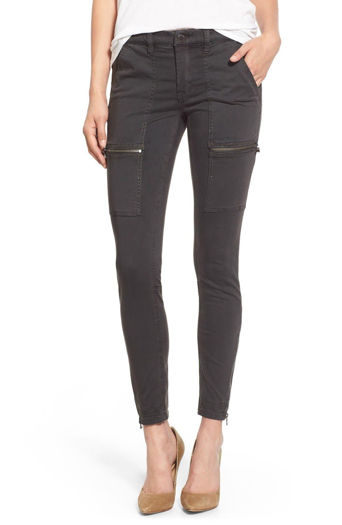 Alternate Image 1 Selected - BLANKNYC 'No New Friends' Skinny Utility Pants