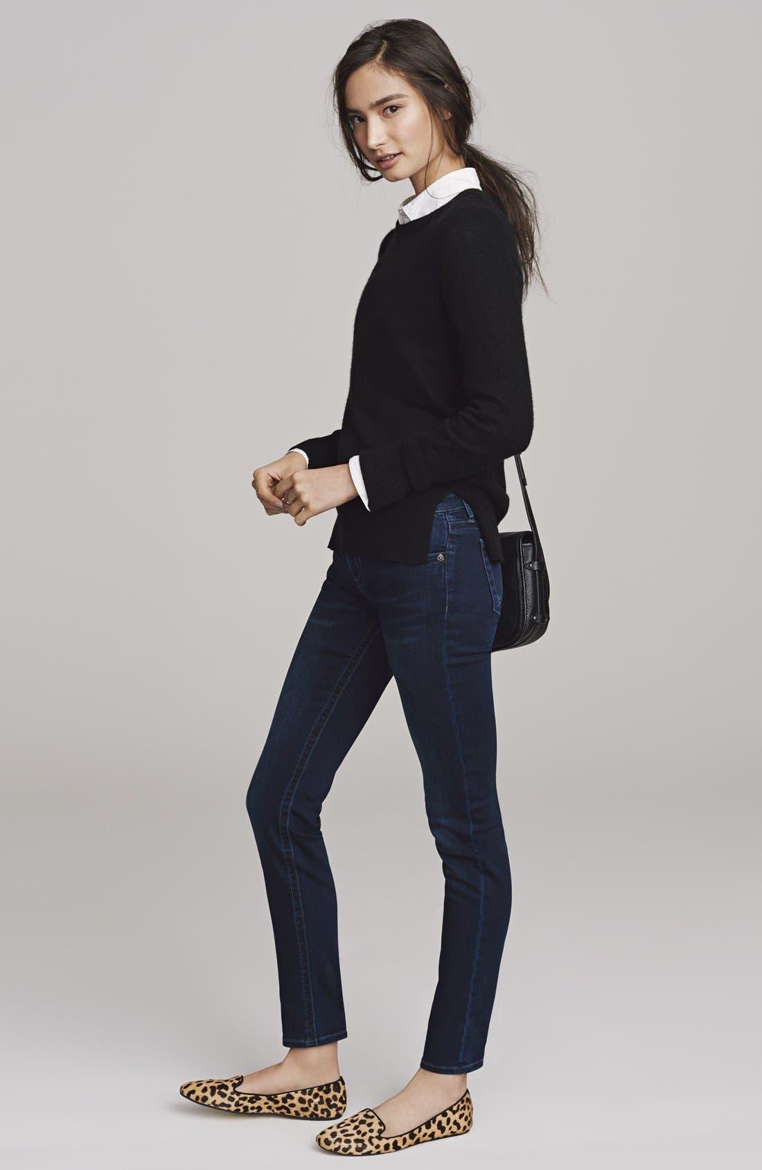 Alternate Image 10  - Halogen® Crewneck Lightweight Cashmere Sweater (Regular & Petite)
