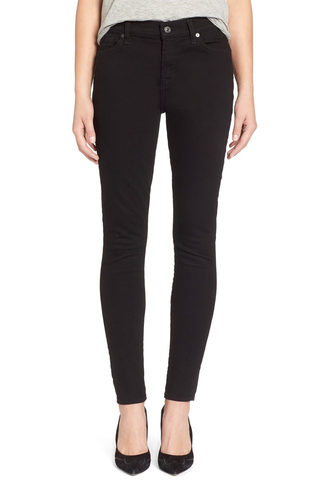 Main Image - 7 For All Mankind® Skinny Jeans