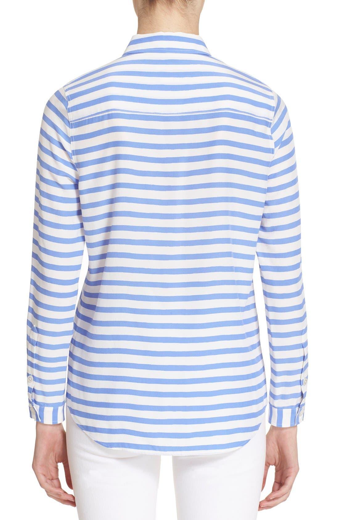 Alternate Image 2  - kate spade new york stripe shirt