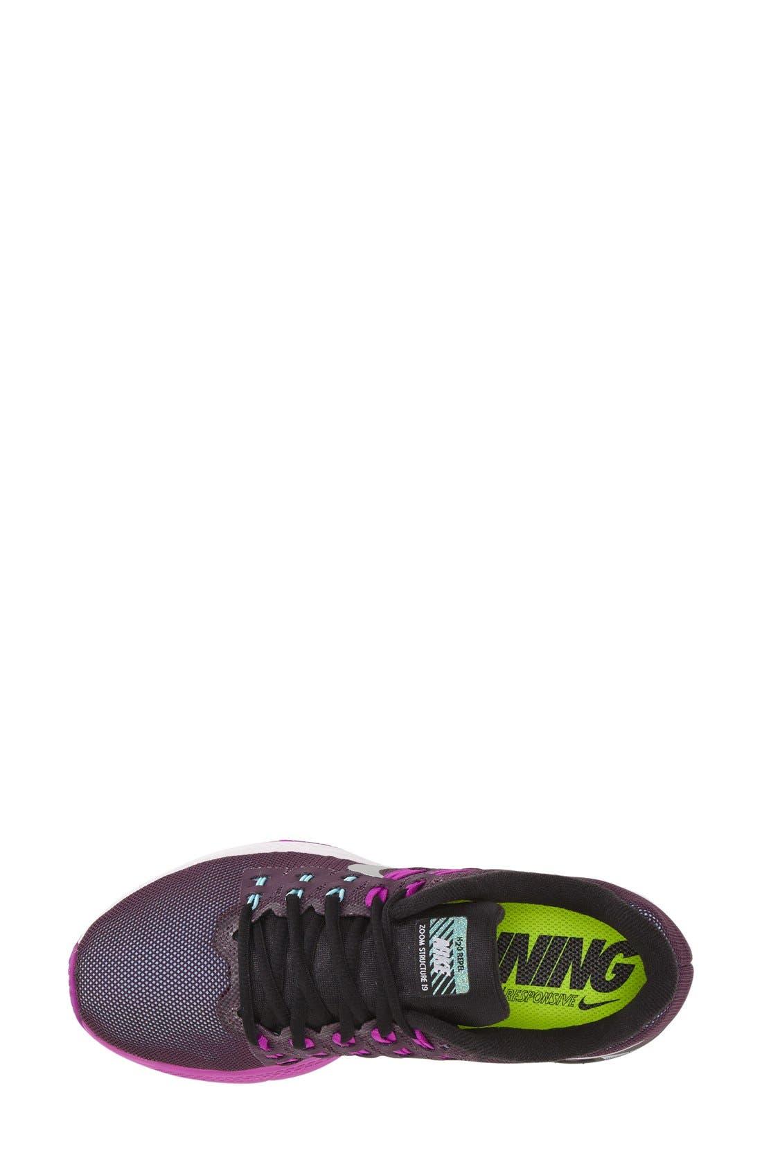 Alternate Image 3  - Nike 'Air Zoom Structure 19' Running Shoe (Women)