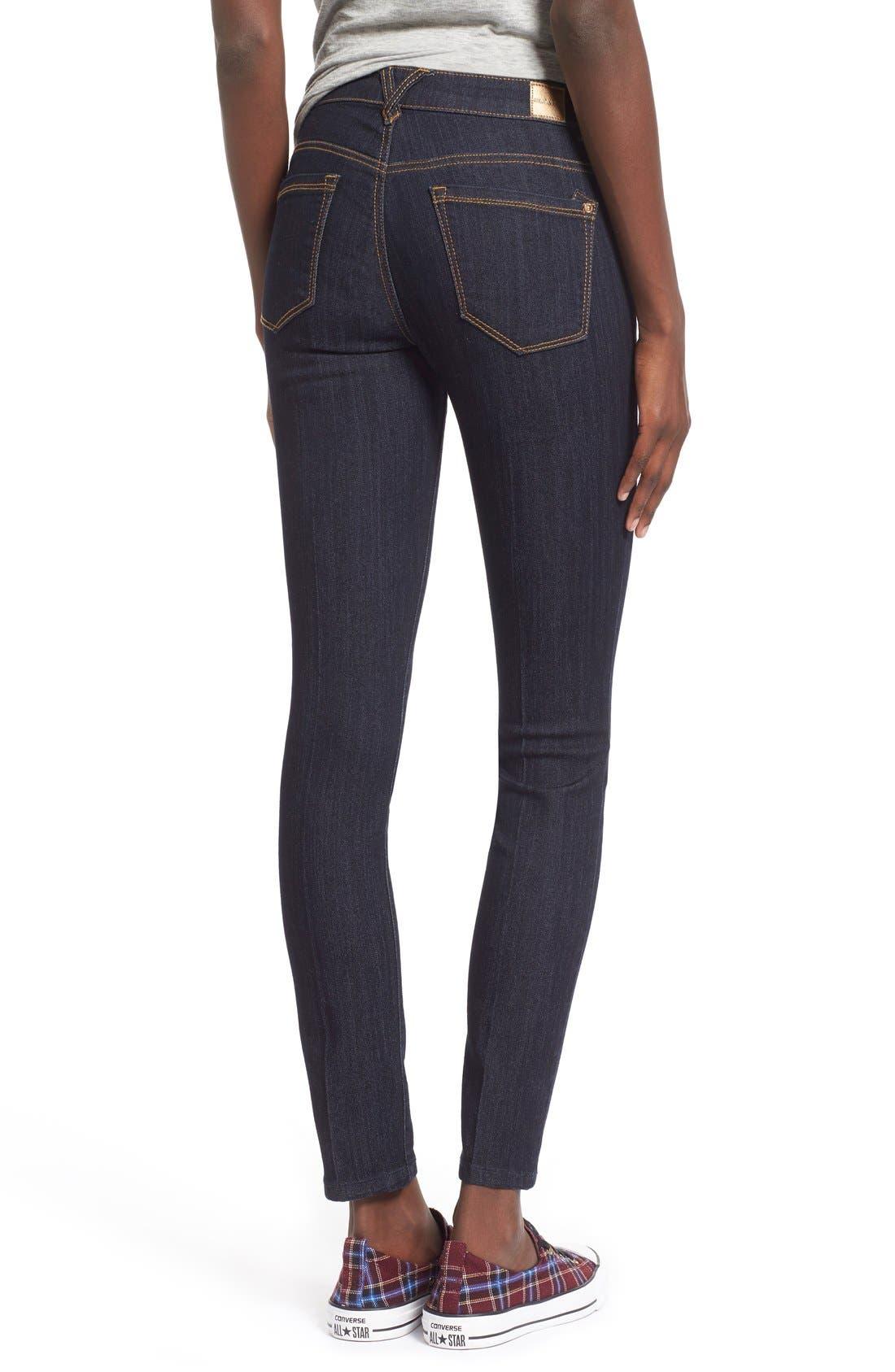 Alternate Image 2  - Jolt Skinny Jeans (Indigo)