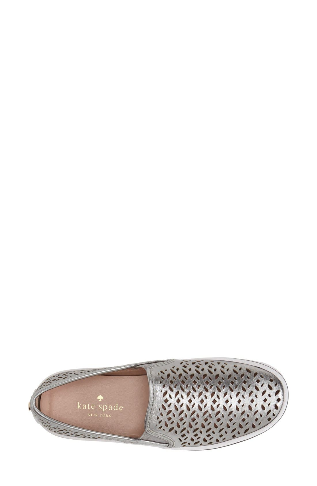Alternate Image 3  - kate spade new york 'saddie' slip-on sneaker (Women)
