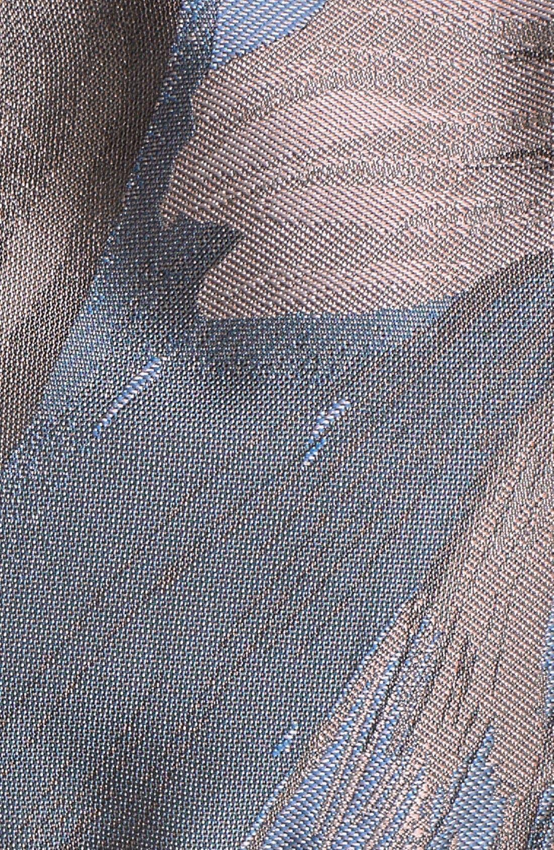 Alternate Image 6  - Maggy London 'Splash' Floral Jacquard Sheath Dress (Regular & Petite)