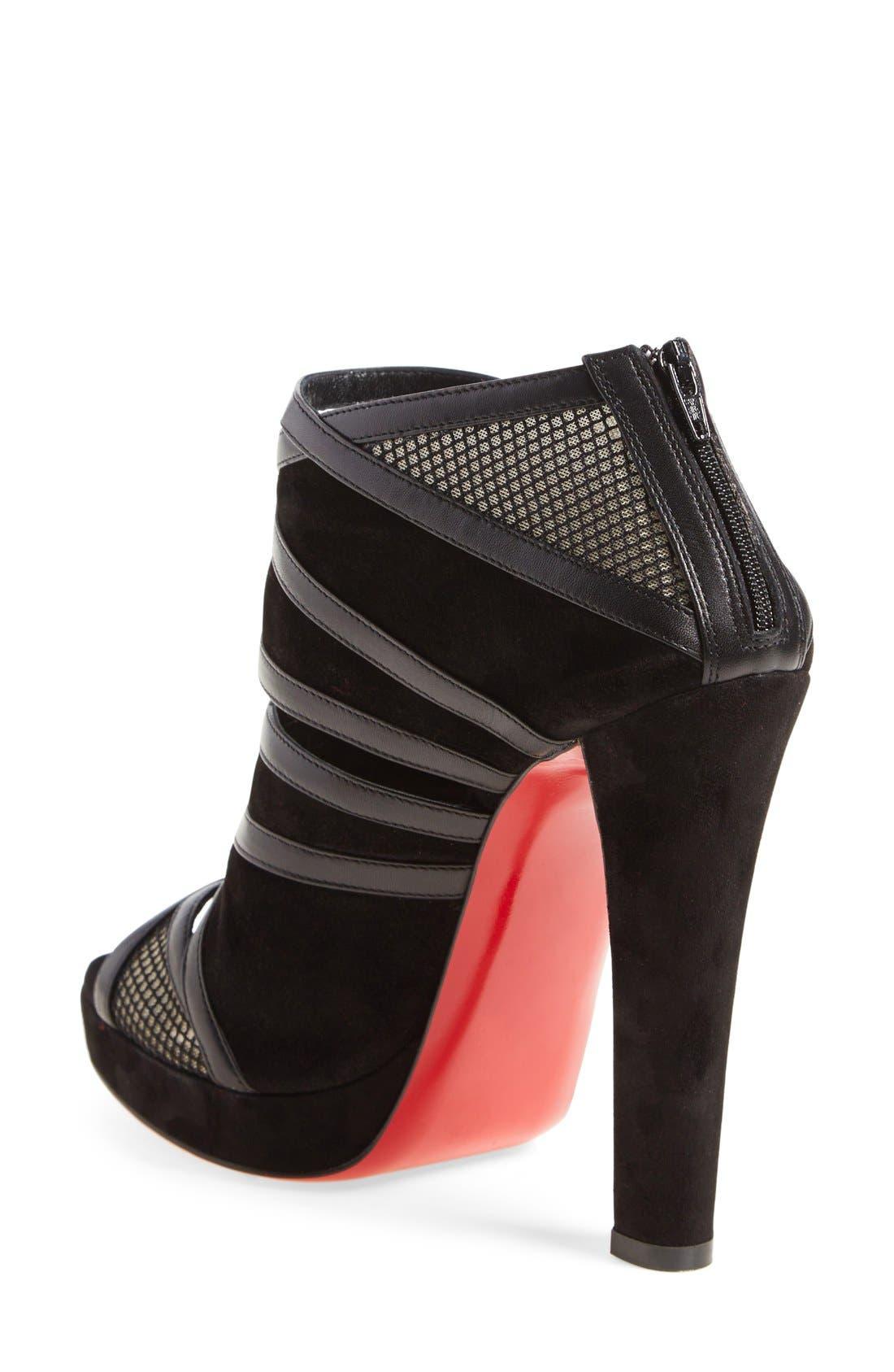 Alternate Image 2  - Christian Louboutin 'Cammandanta' Open Toe Platform Sandal