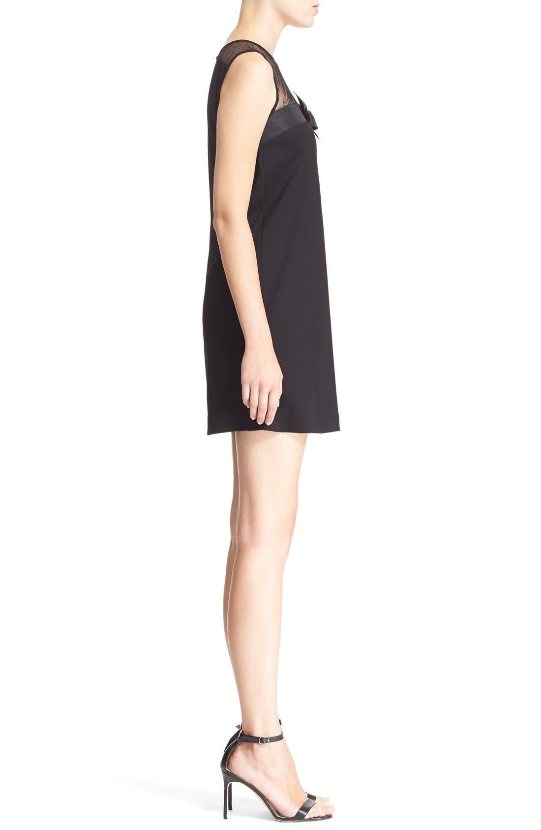 Alternate Image 3  - RED Valentino Point d'Esprit Yoke Bow Dress