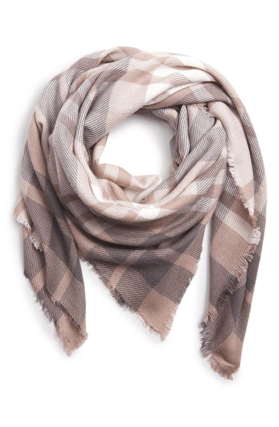 Main Image - BP. Tonal Plaid Scarf