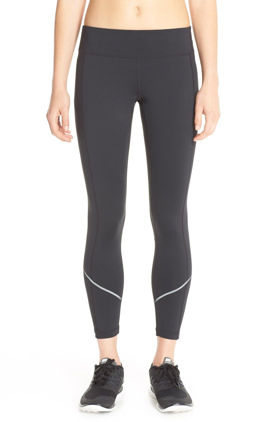 Main Image - Zella 'Fly By' Running Midi Tights