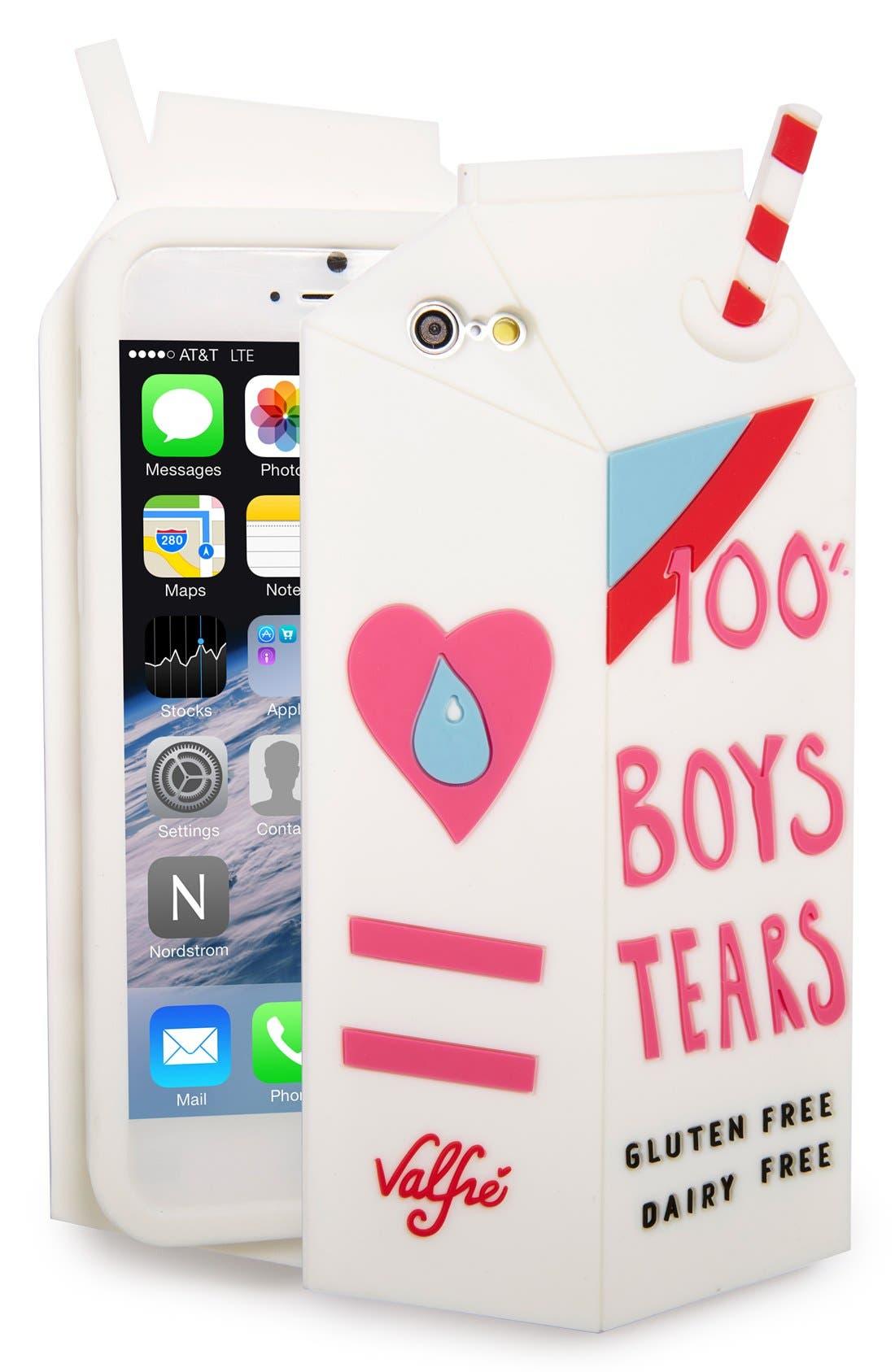Alternate Image 1 Selected - Valfré 'Boys Tears' iPhone 6 Case