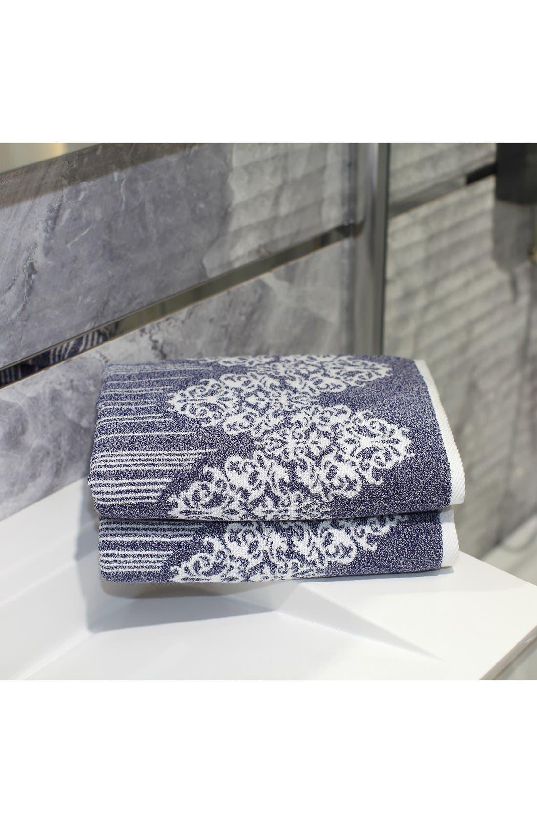 Alternate Image 2  - Linum 'Gioia' Turkish Cotton Bath Towels (Set of 2)