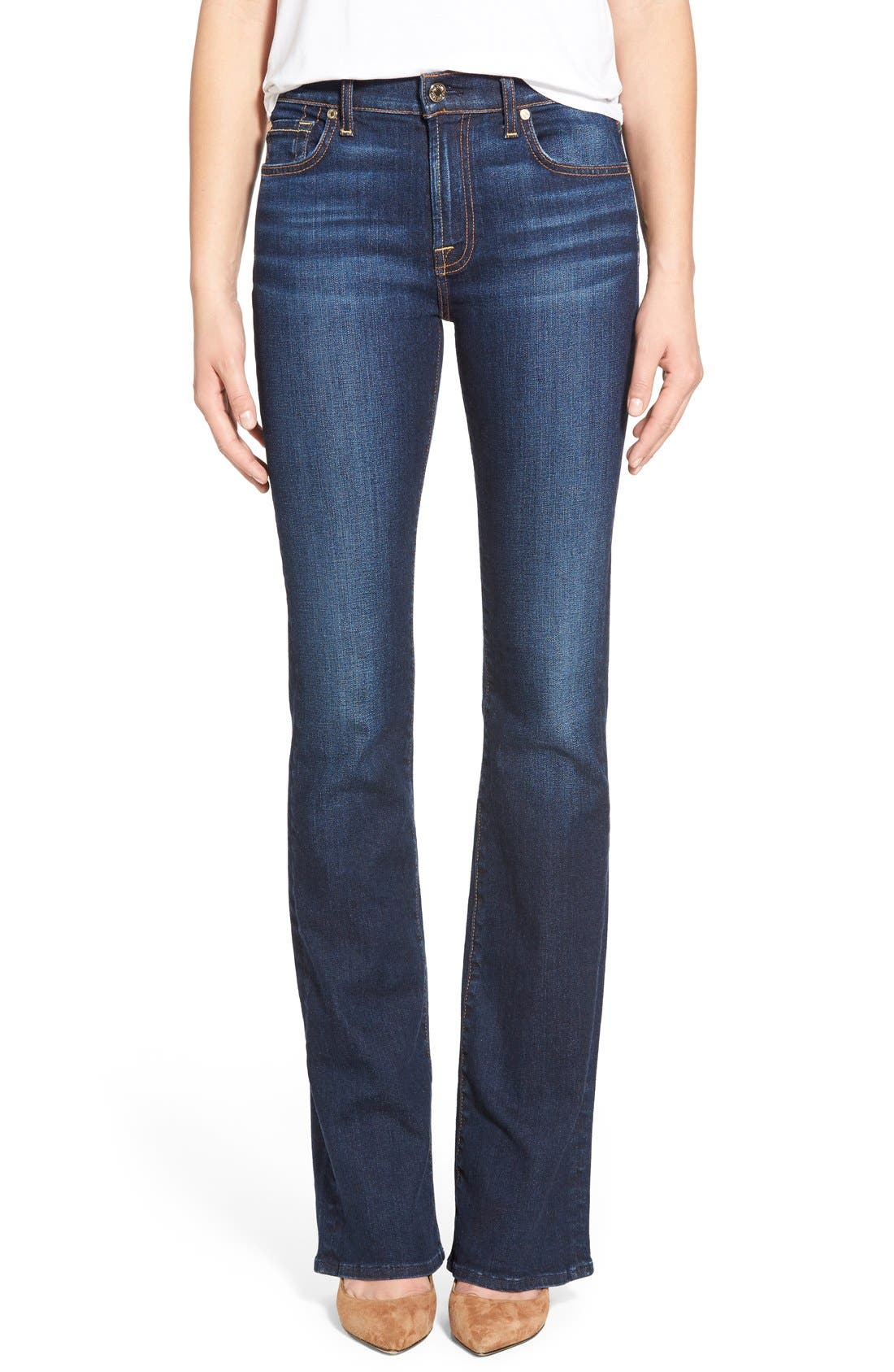 Main Image - 7 For All Mankind® New Iconic Bootcut Jeans