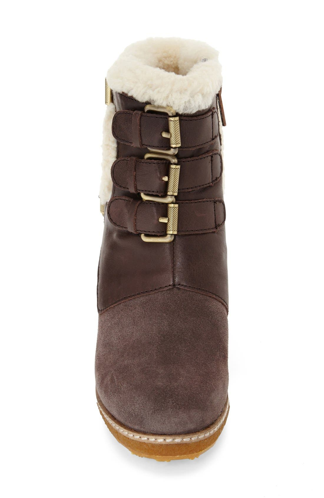 Alternate Image 3  - Australia Luxe Collective 'Monk' Genuine Calf Hair & Shearling Boot (Women)