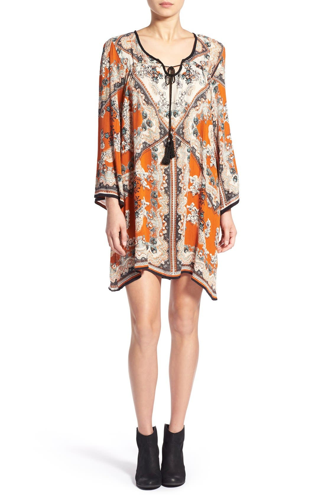 Main Image - Angie Print Shift Dress