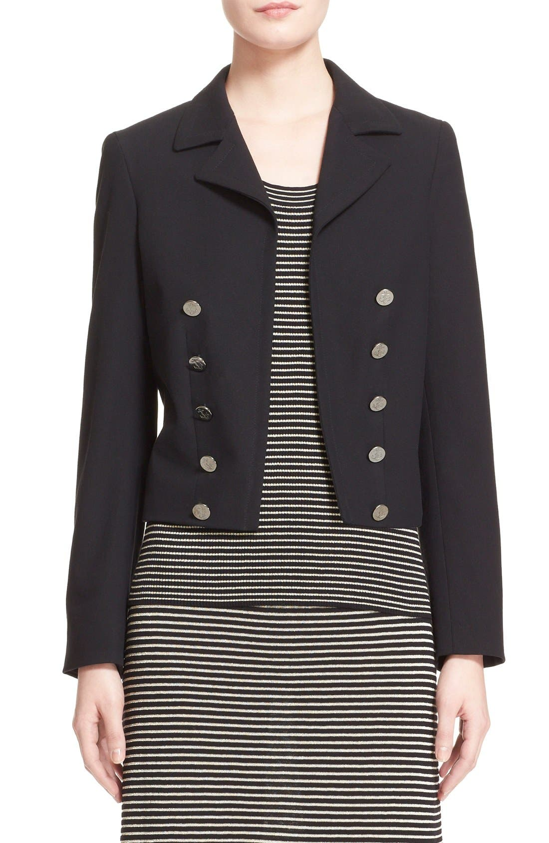 Alternate Image 1 Selected - Max Mara 'Talpa' Stretch Cotton & Linen Jacket