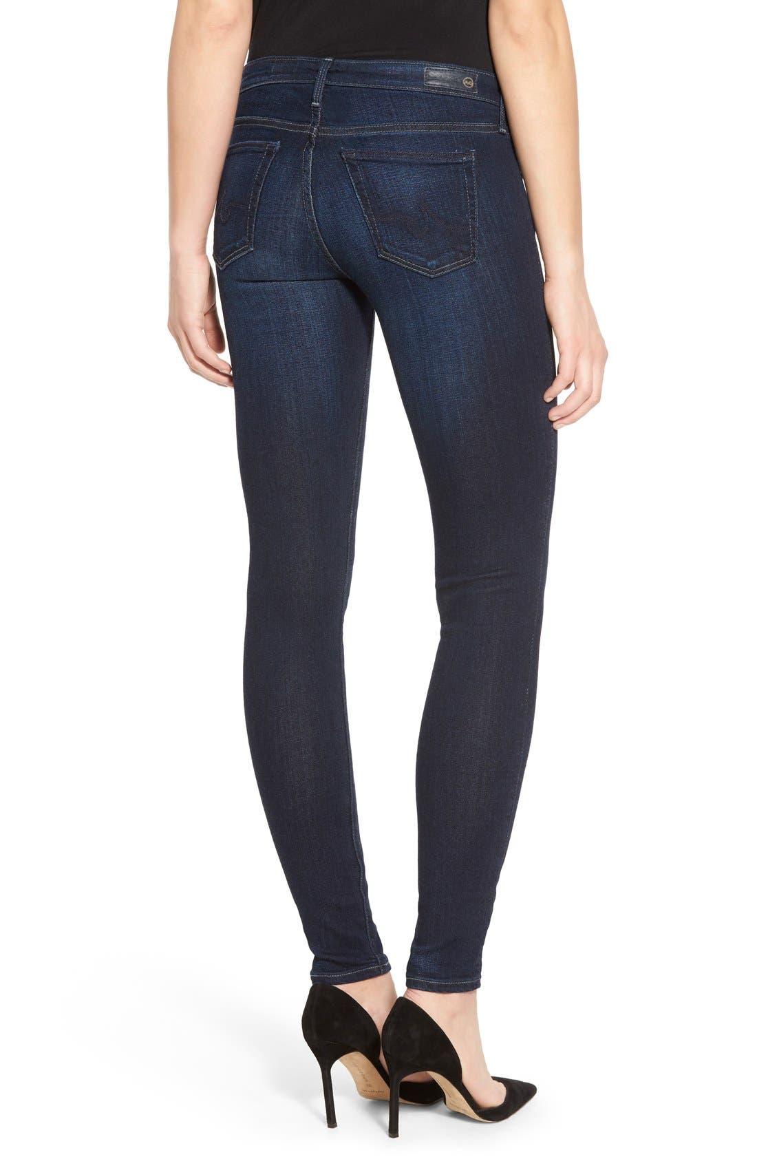 Alternate Image 2  - AG Jeans Super Skinny Stretch Jeans (Stella)