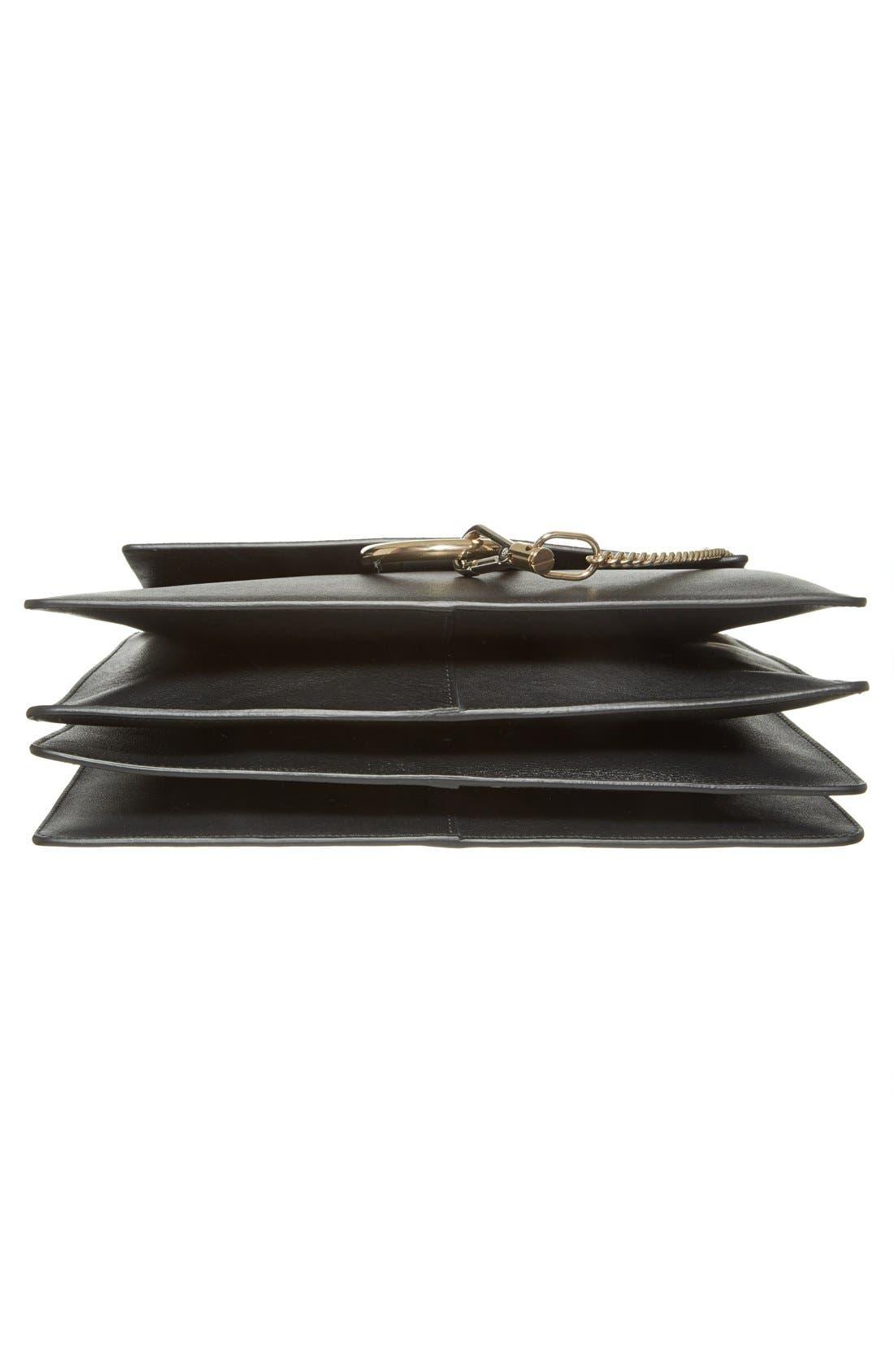 Alternate Image 5  - Chloé 'Faye' Leather & Suede Shoulder Bag