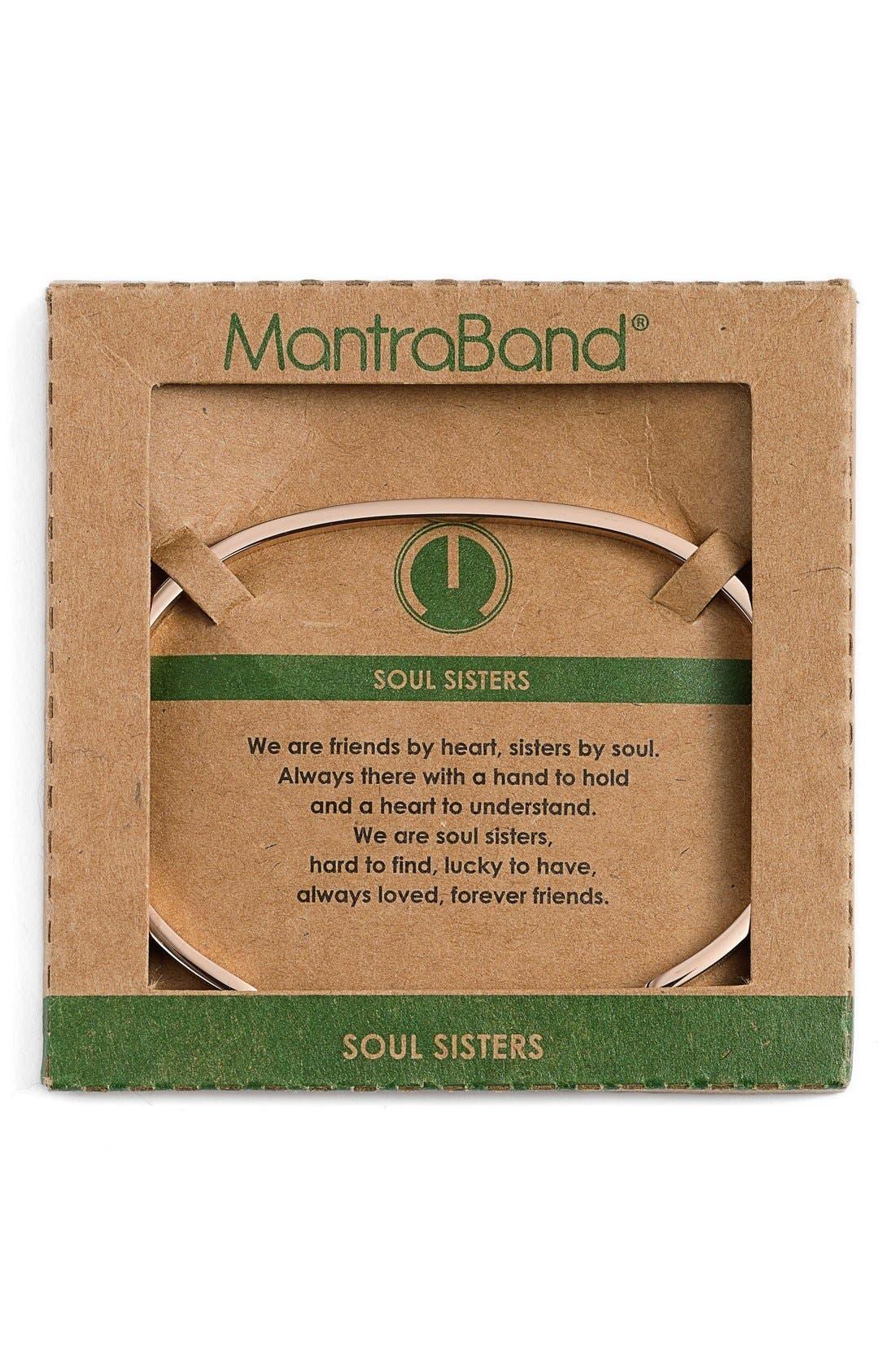 Alternate Image 2  - MantraBand® 'Soul Sister' Cuff
