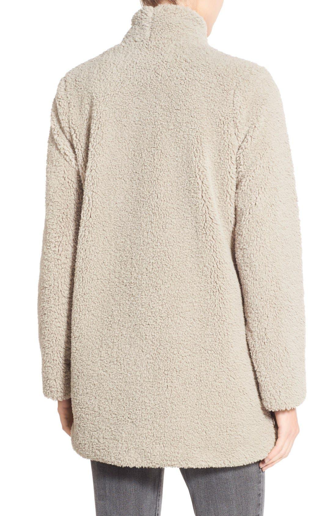 Alternate Image 2  - BB Dakota 'Daylin' Faux Fur One Button Coat
