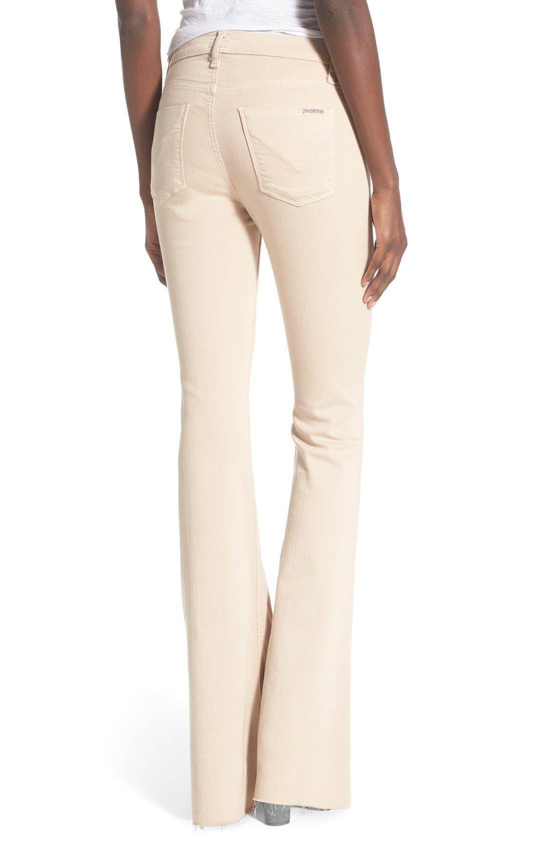 Alternate Image 2  - Hudson Jeans 'Jodi' Flare Jeans (Parachute Khaki)