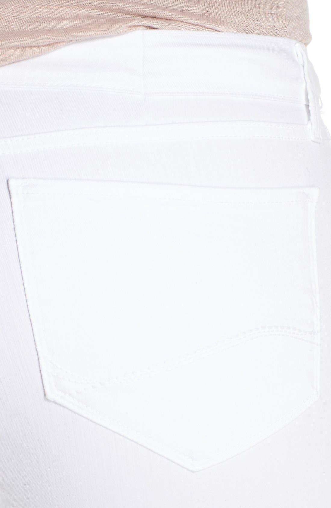 Alternate Image 4  - NYDJ 'Clarissa' Stretch Slim Ankle Jeans (Plus Size)