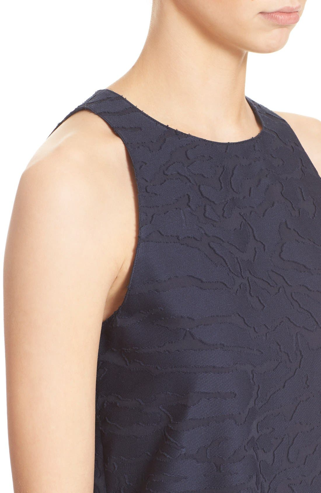 Alternate Image 4  - Vince Fil Coupé Sleeveless Shift Dress (Nordstrom Exclusive)