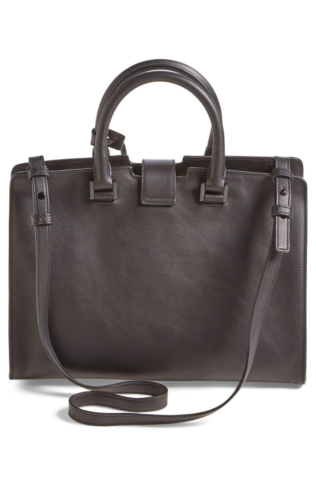Alternate Image 3  - Saint Laurent 'Small Cabas' Leather Satchel