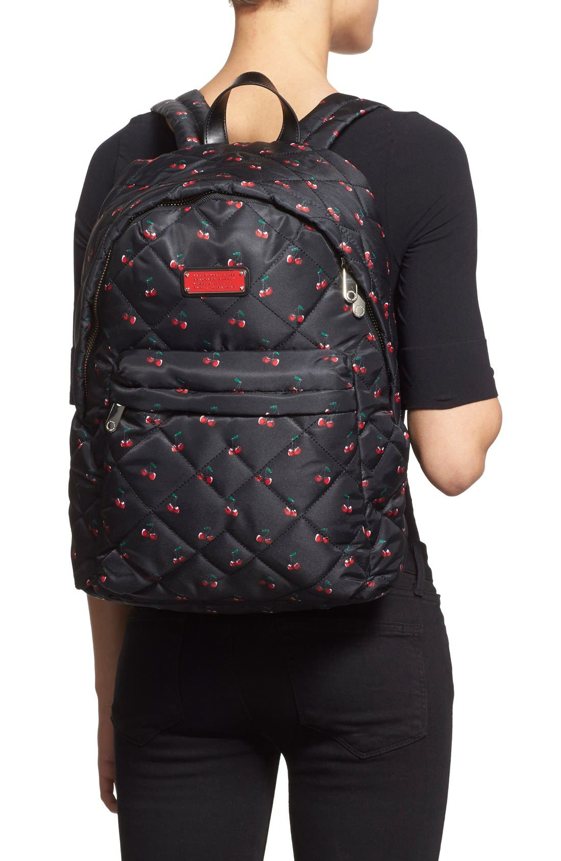 Alternate Image 2  - MARC BY MARC JACOBS 'Crosby' Quilted Fruit Print Backpack