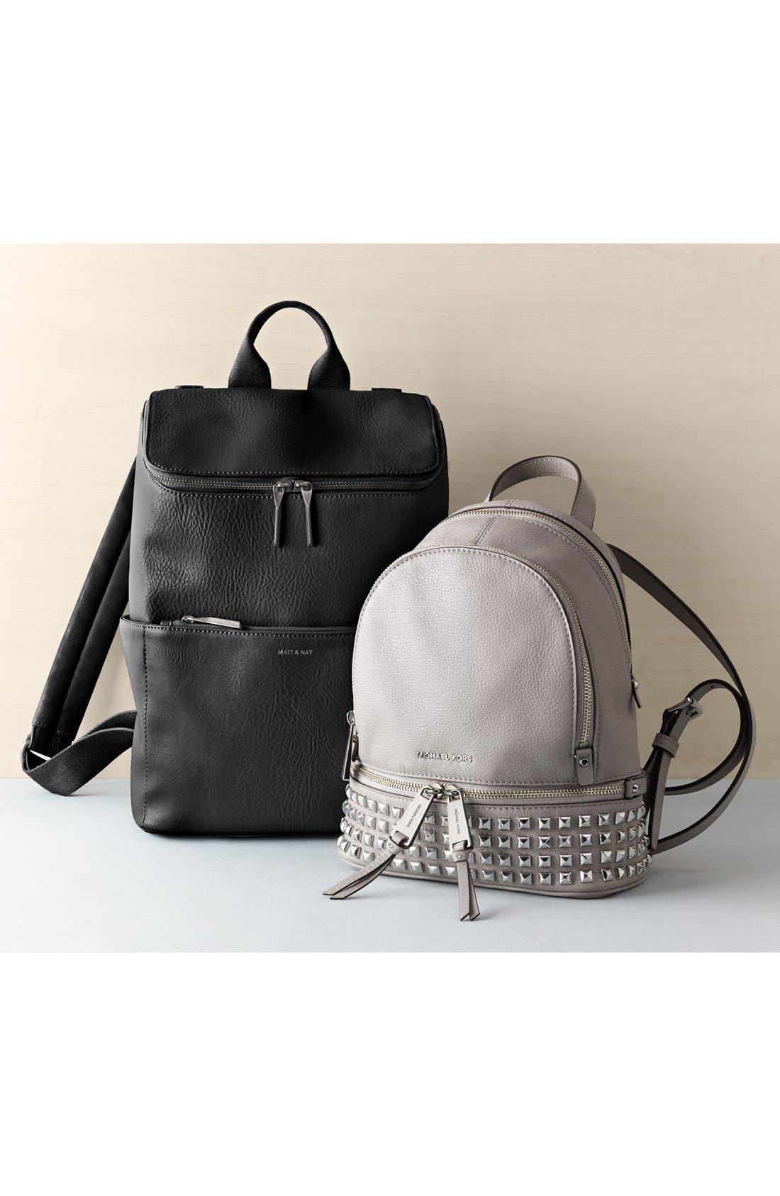 Alternate Image 10  - MICHAEL Michael Kors 'Small Rhea Zip' Studded Backpack