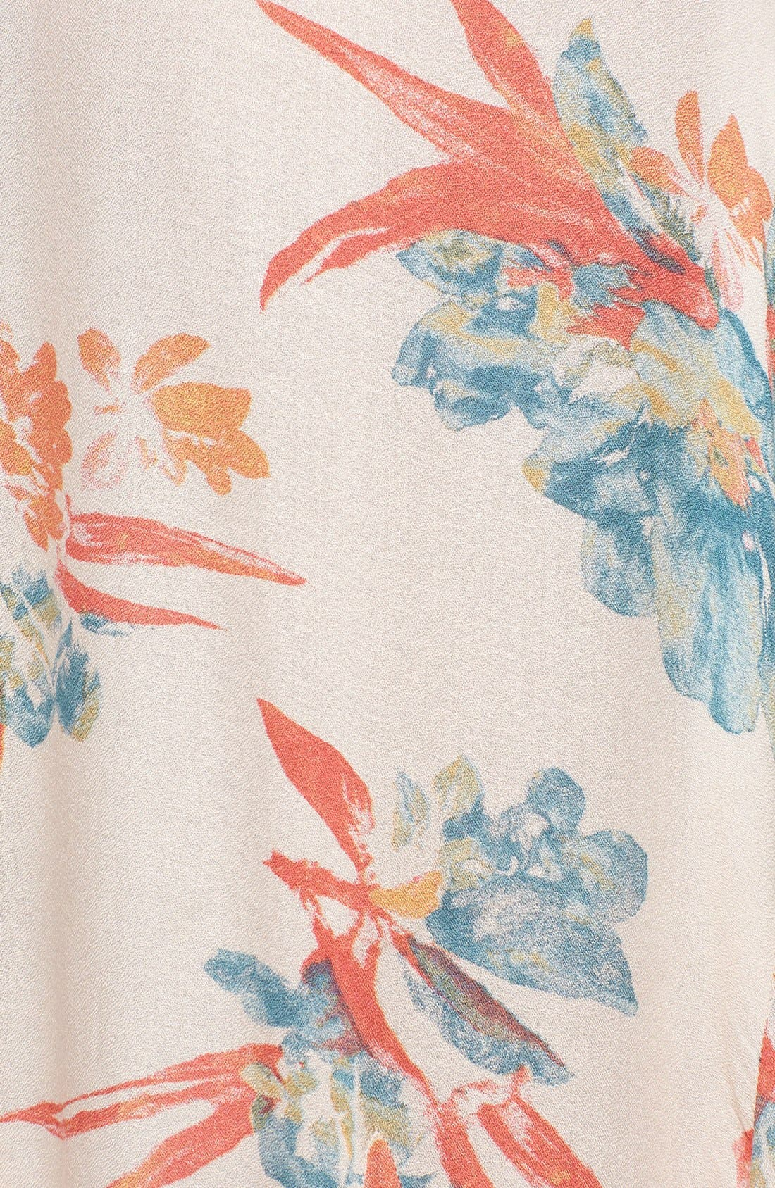 Alternate Image 3  - Free People 'Star Chasing' Floral Maxi Slip Dress
