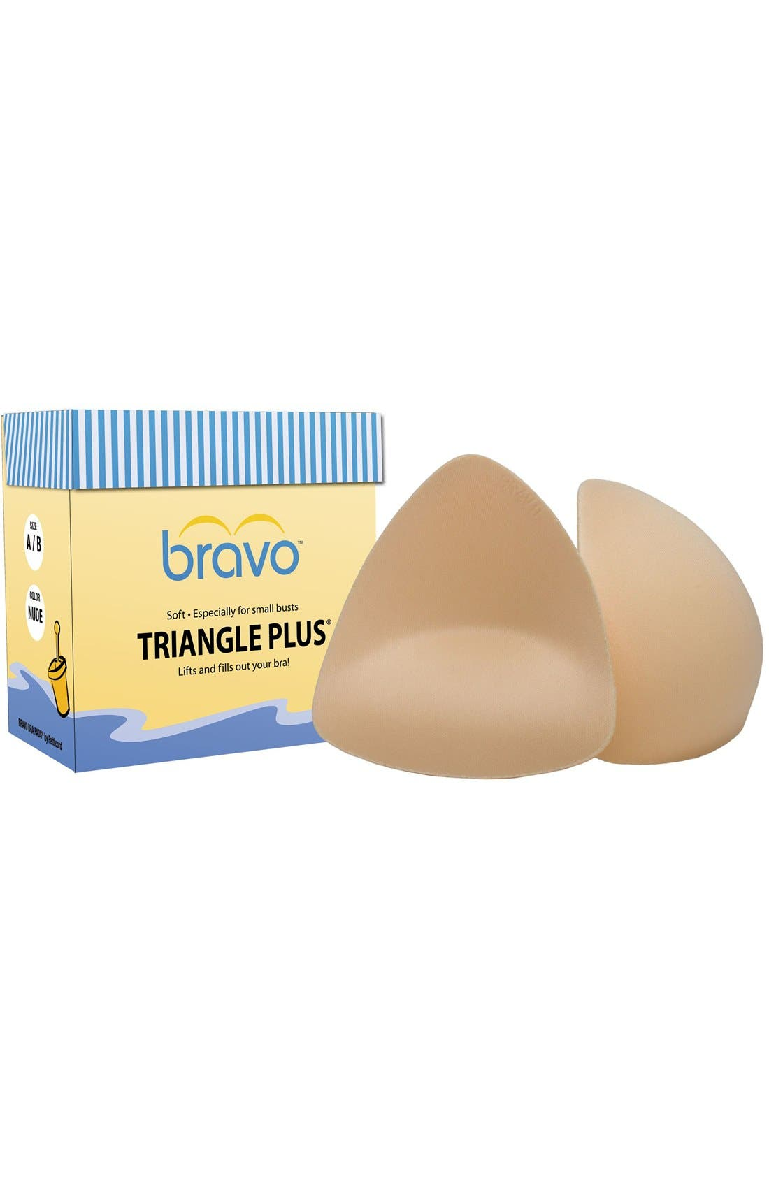 Alternate Image 1 Selected - Bravo Triangle Push-Up Pads