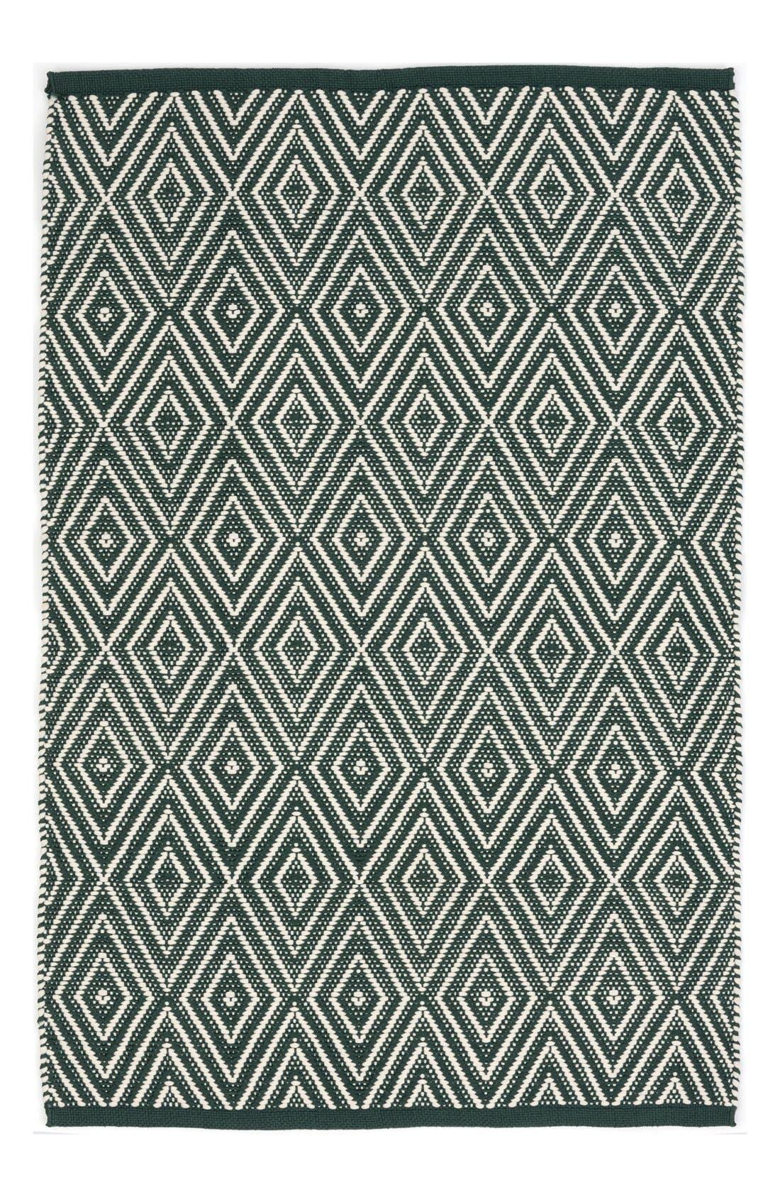 Alternate Image 1 Selected - Dash & Albert Diamond Print Rug