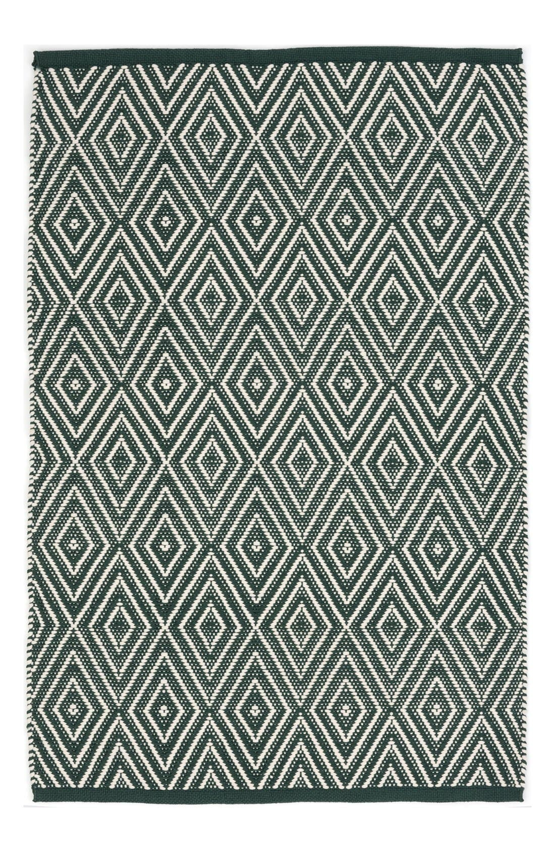 DASH & ALBERT Diamond Print Rug