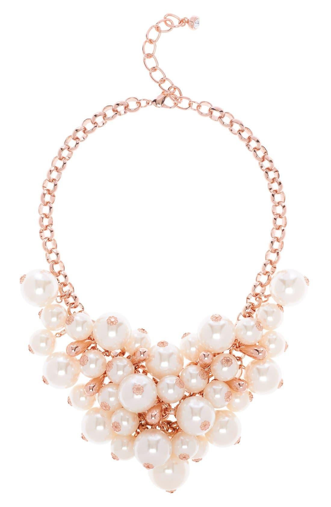 Alternate Image 1 Selected - Ted Baker London Cluster Necklace