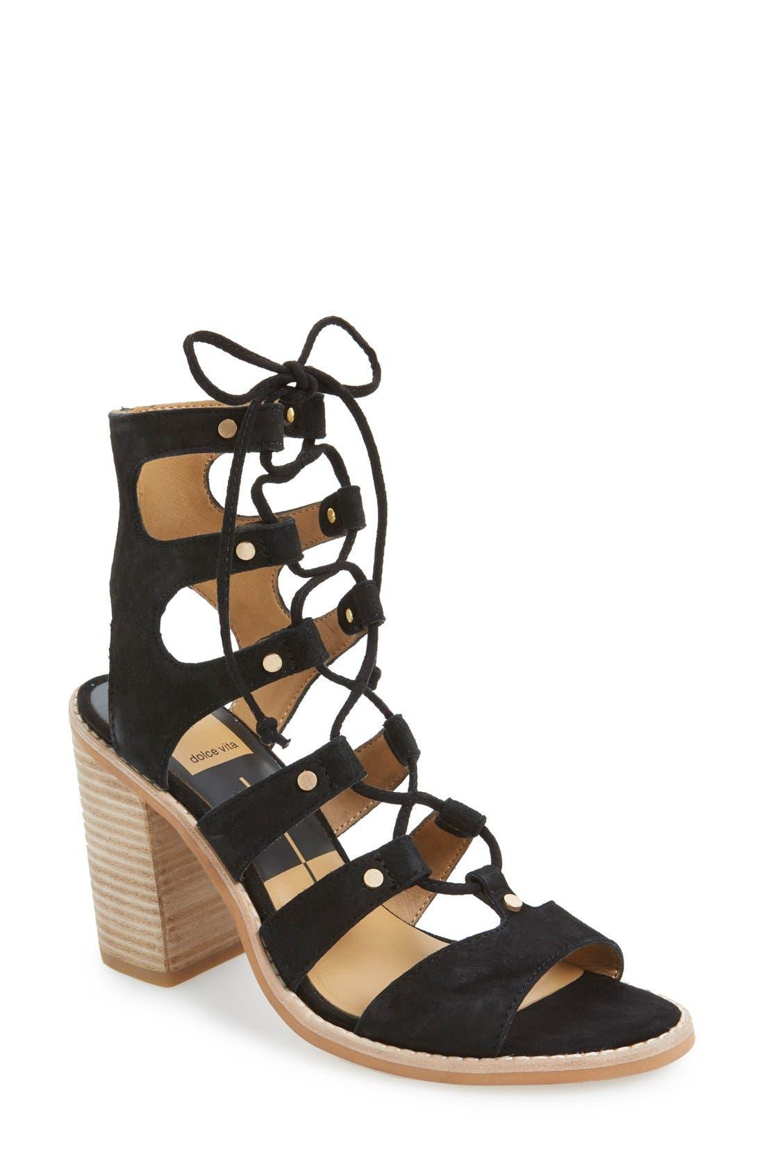 Alternate Image 1 Selected - Dolce Vita 'Lyndon' Lace-Up Sandal (Women)
