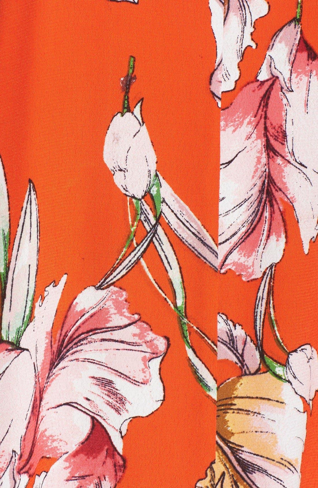 Alternate Image 5  - MINKPINK 'Tangerine Dream' Floral Print Swing Dress