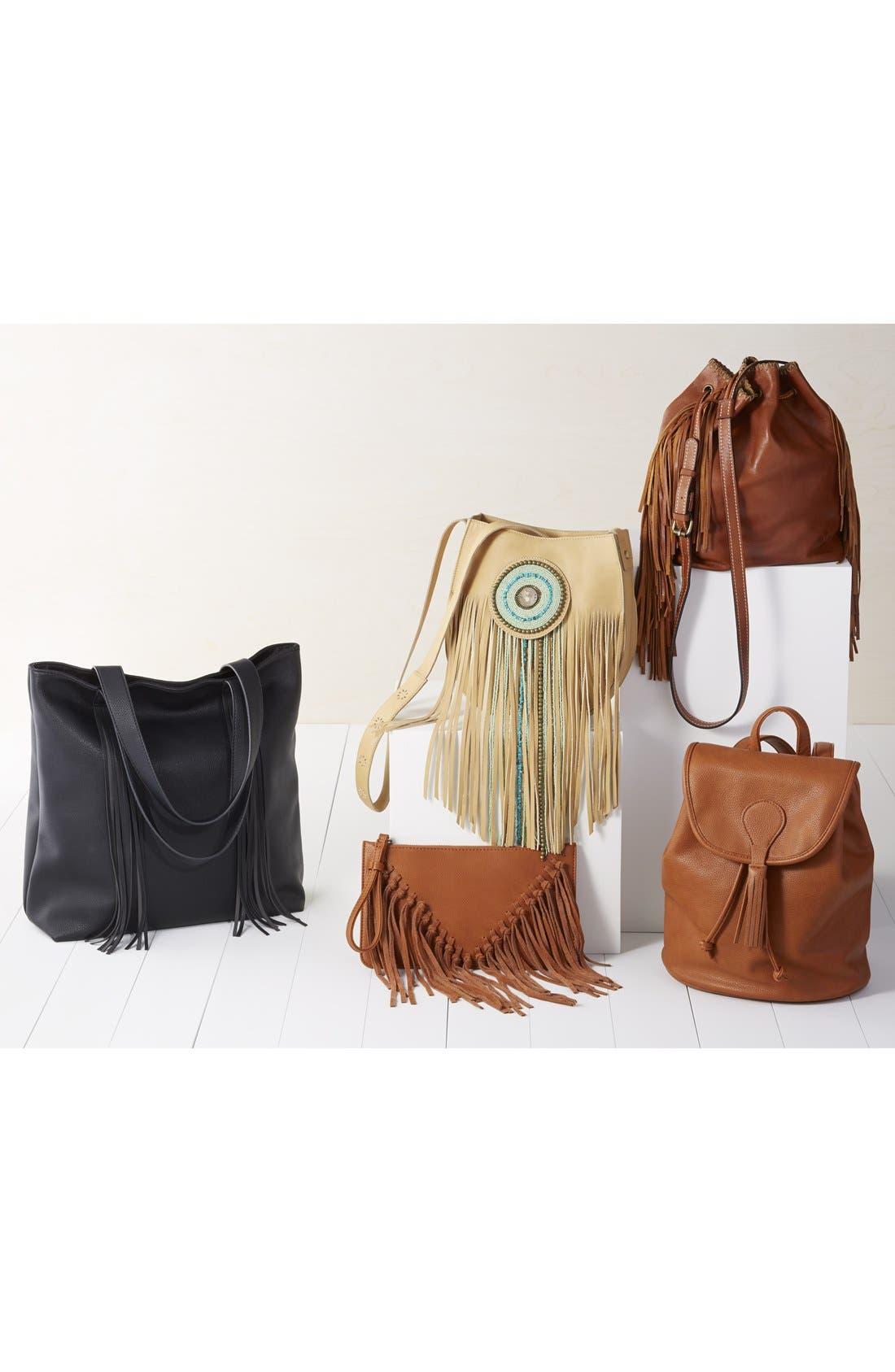 Alternate Image 10  - Sam Edelman 'Karina' Fringe Leather Shoulder Bag