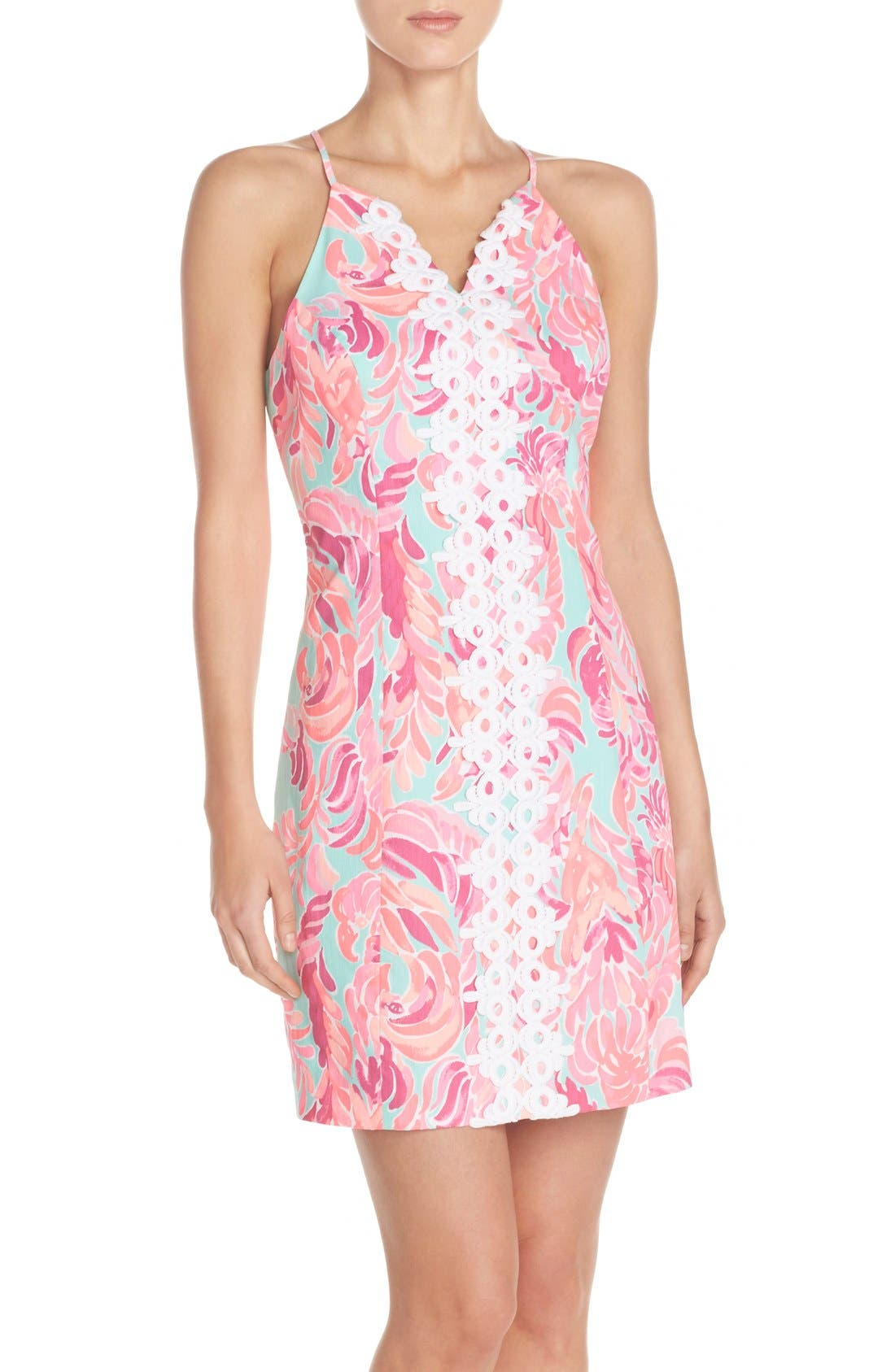 Alternate Image 1 Selected - Lilly Pulitzer® 'Pearl' Cotton Dobby Sheath Dress