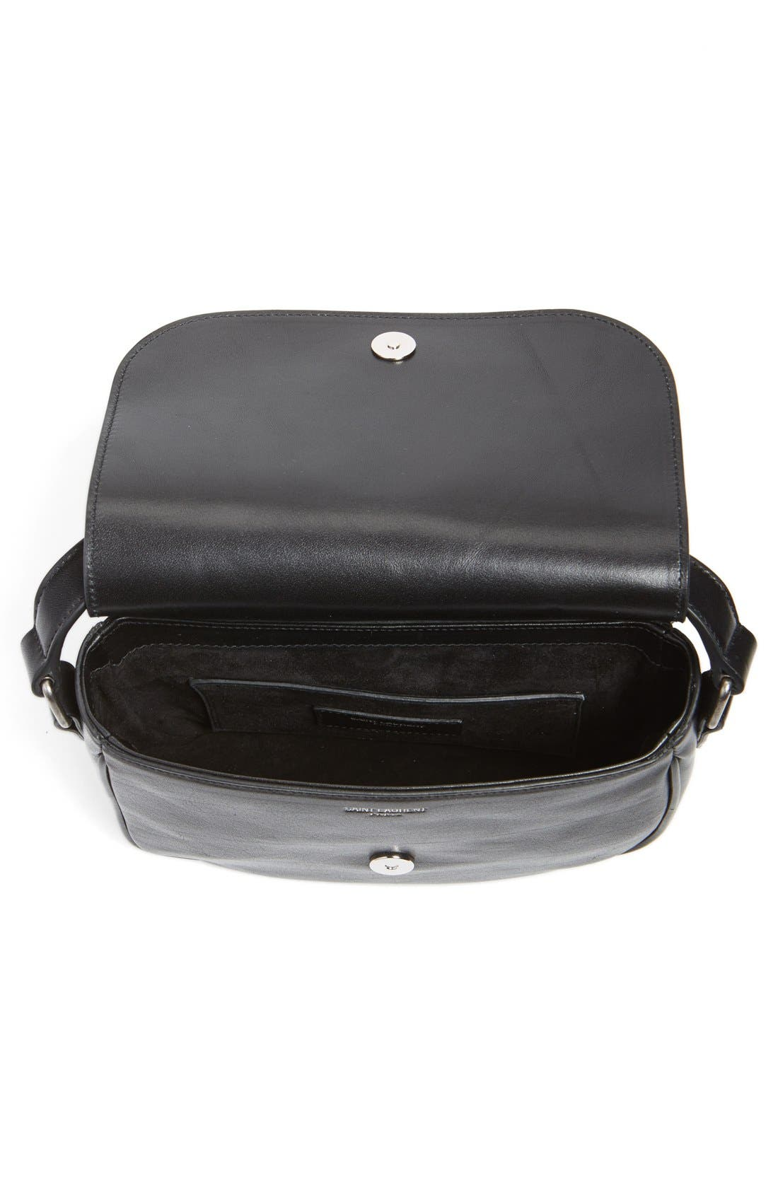 Alternate Image 4  - Saint Laurent 'Small Kim' Calfskin Crossbody Bag